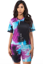 Load image into Gallery viewer, Tie-Dye Short Set