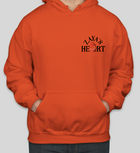 Load image into Gallery viewer, ZayasHeart Red Logo Hoodie - Fall Colors (Unisex)