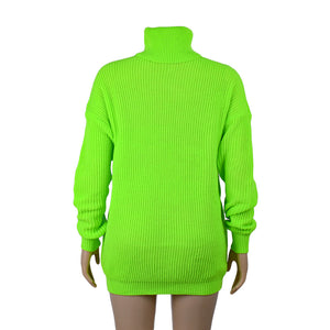 """Green neon"" sweater - duppydu"