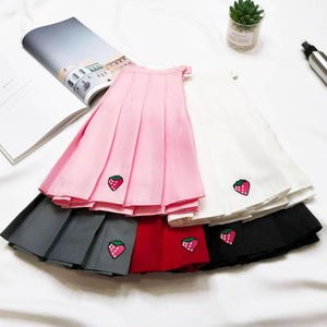 """Strawberry"" Skirt (different colors) - duppydu"