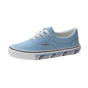 "Blue ""Unicorn"" Casual canvas shoes - duppydu"