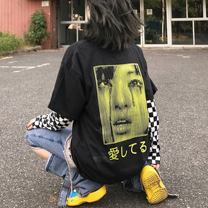 """Crybaby"" Long sleeve t-shirt - duppydu"