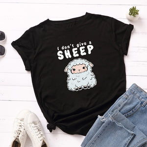 """I don´t give a sheep"" T-Shirt - duppydu"