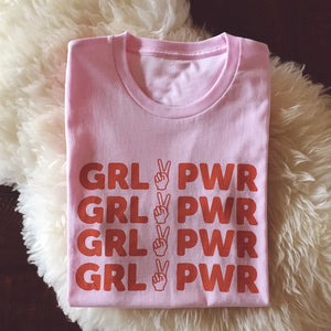 """Girl Power"" T-shirt - duppydu"