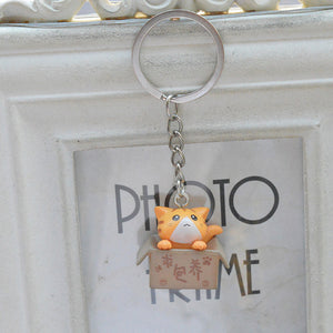 Cute cats keychain (choose color) - duppydu