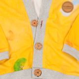 Cardigan Close-Me Yellow Colibri Limited Edition Arts