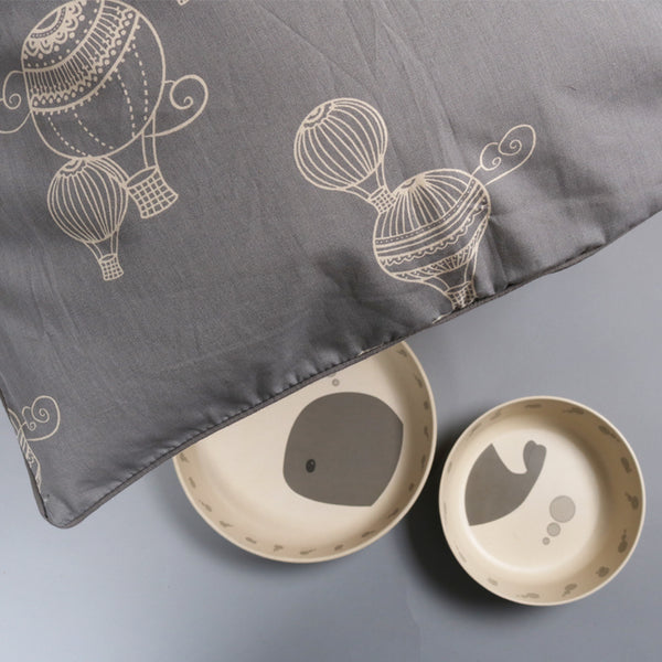 Bamboo Dinner Set - Whale