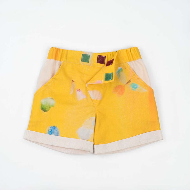 Short Close-Me Colibri Yellow Limited Edition Arts