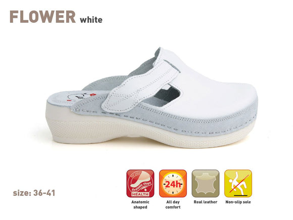 Batz FLOWER - white