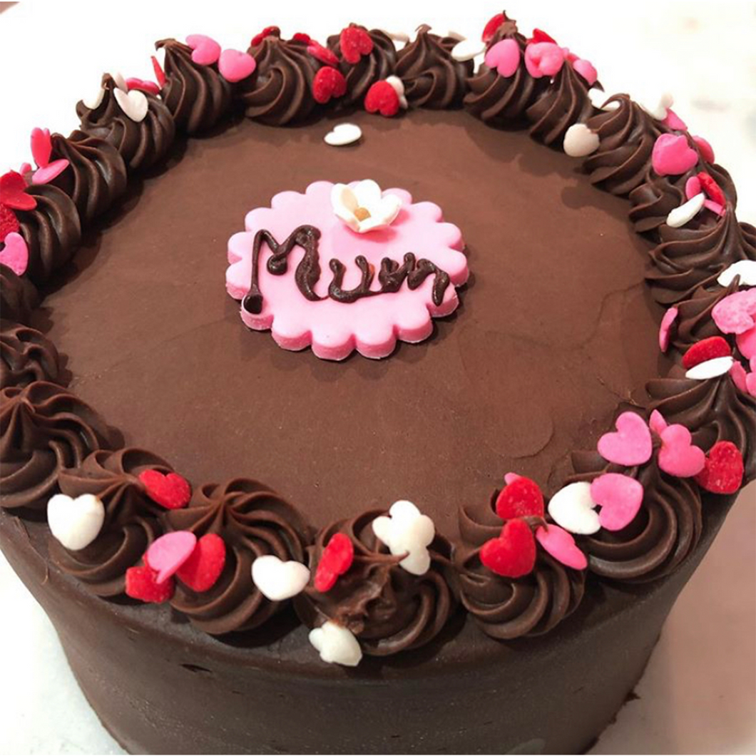 Mother's Day Chocolate Cake