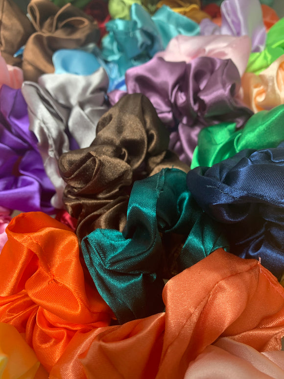 Satin Scrunchies (12)