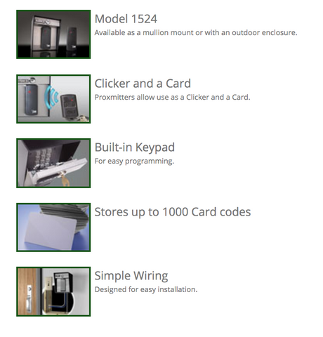 Electronics - DKS 1520/1524 Stand Alone Card Readers