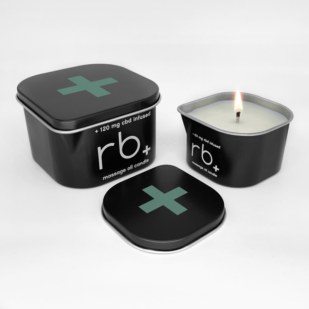 Load image into Gallery viewer, rb+ eucalyptus massage candle