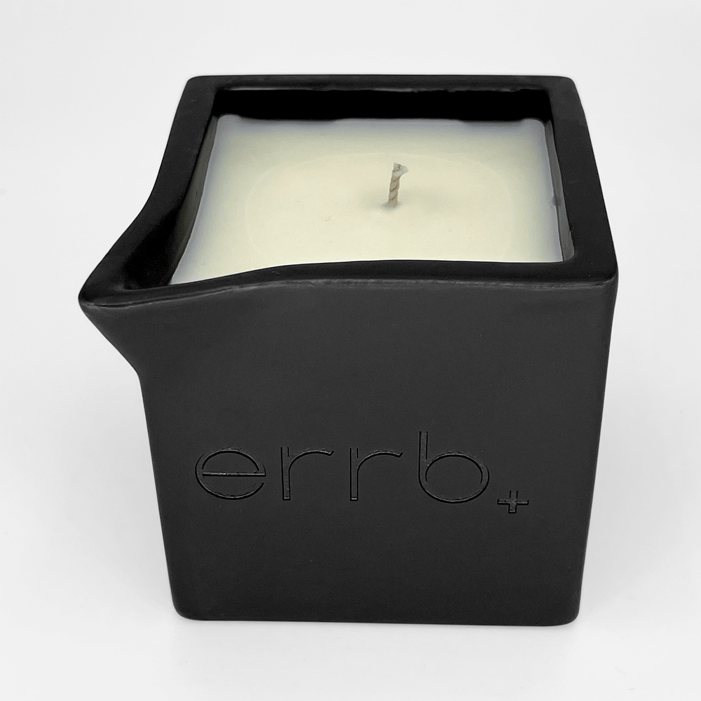 Load image into Gallery viewer, errb+ infused massage candle