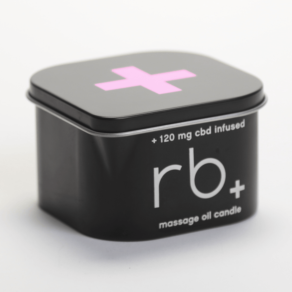 Load image into Gallery viewer, rb+ rose/sage massage candle