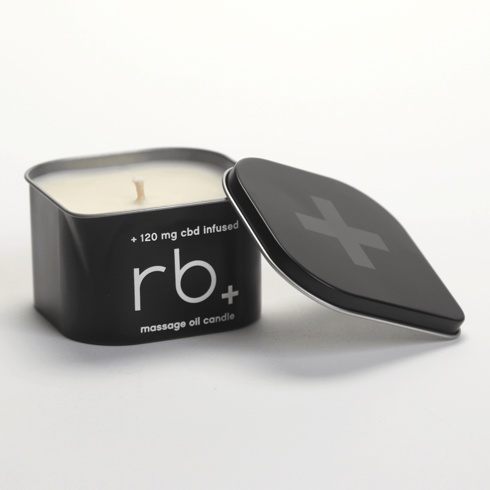 rb+ unscented massage candle