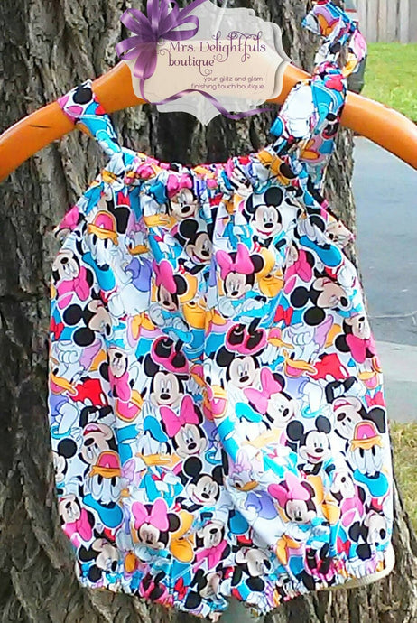 Disney inspired romper