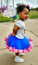 Load image into Gallery viewer, Ribbon trimmed  tutu set