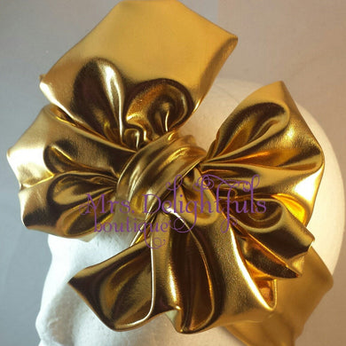Messy bow headband/turban