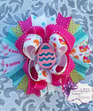 Load image into Gallery viewer, Easter hair bow