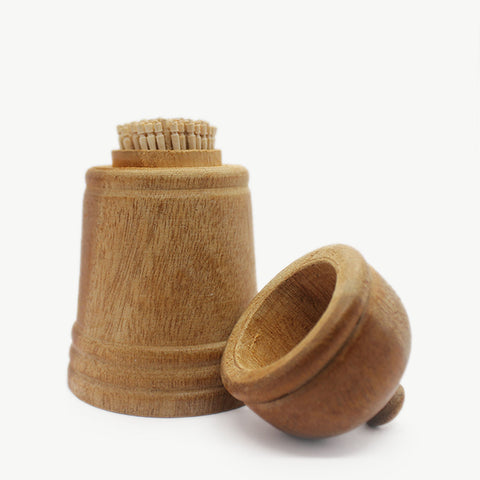 Cinnamon Toothpick with Holder