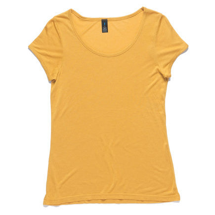 AS Colour Note Tee - Mustard