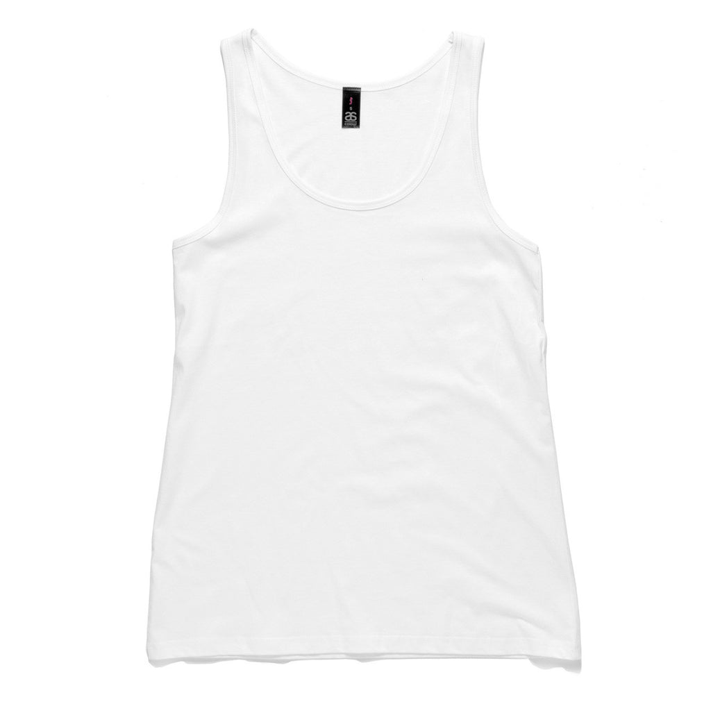 AS Colour Tulip Singlet - White
