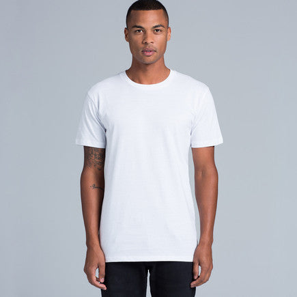 AS Colour Paper Tee - Grey Marle