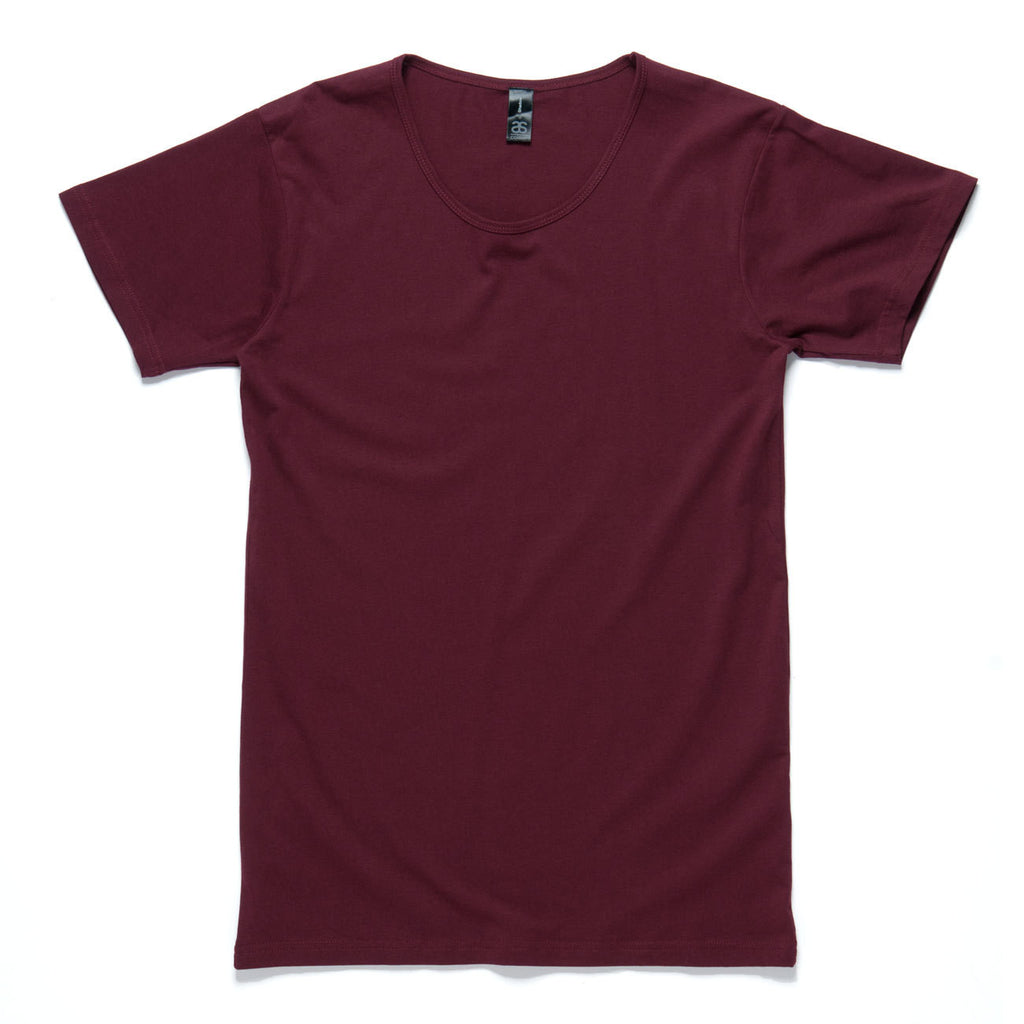 AS Colour Shadow Tee - Burgundy
