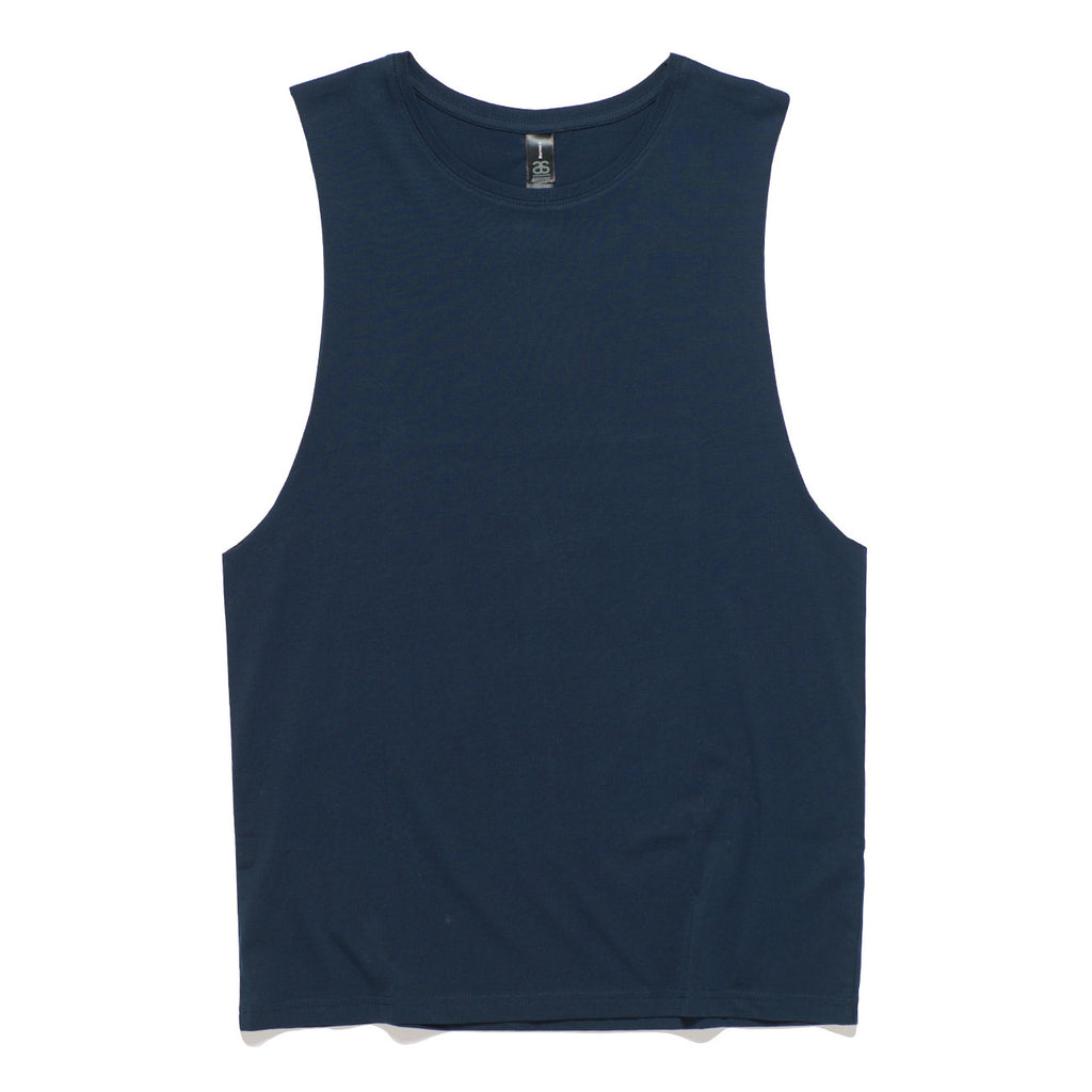 AS Colour Barnard Tank Tee - Navy