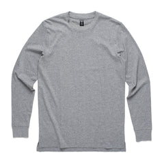 AS Colour Base Long Sleeve Tee - Grey Marle