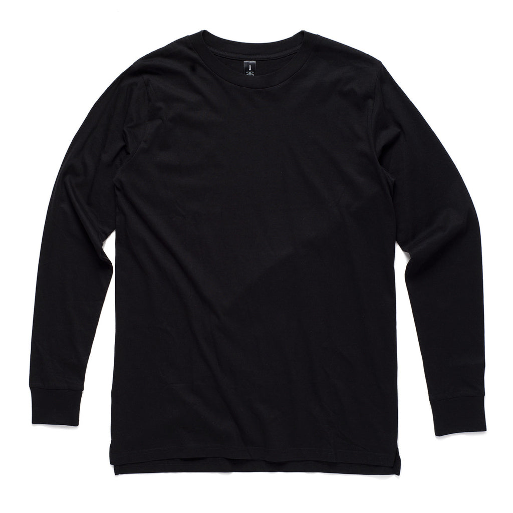 AS Colour Base Long Sleeve Tee - Black