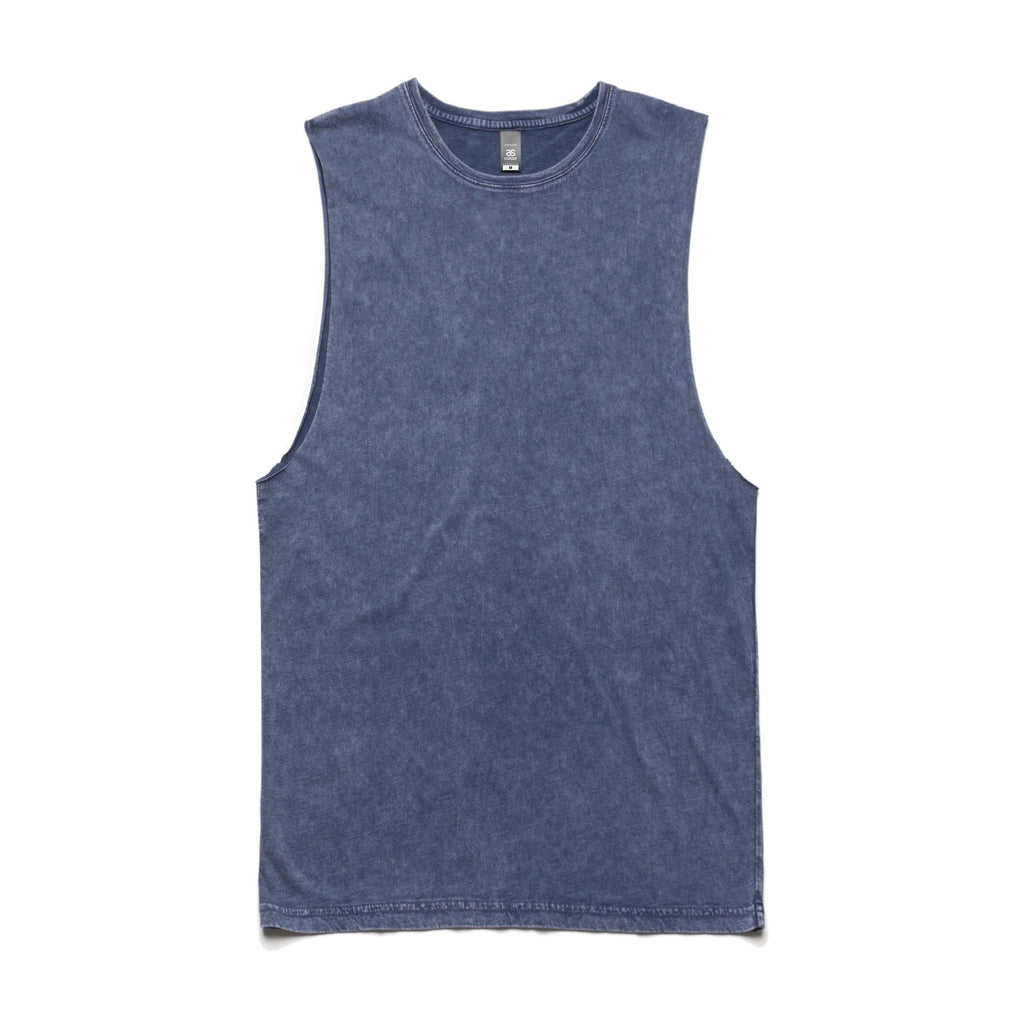 AS Colour Stone Wash Barnard Tank - Blue Stone