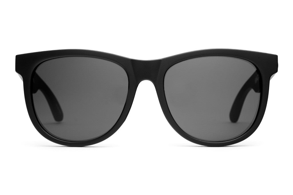 Crap Eyewear Nudie Mag - Flat Black w/ Grey CR-39 Lenses