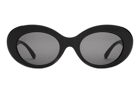Crap Eyewear The Love Tempo - Gloss Black w/ Grey CR-39 Lenses