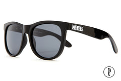 Crap Eyewear Nudie Mag - Gloss Black w/ Polarized Grey Lenses
