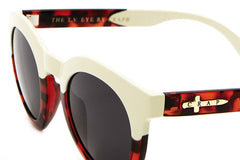 Crap Eyewear T.V Eye - Gloss Brown Tortoise & Cream w/ Grey CR-39 Lenses