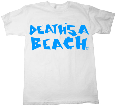 DEATHS A BEACH TEE - White