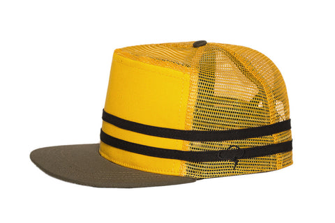 Ampal Creative Stripes Snap Back - Gold