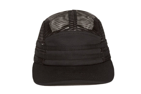 Ampal Creative Stripes Camp Hat - Black