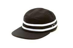 Ampal Creative Stripes Camp Hat - Black Wool