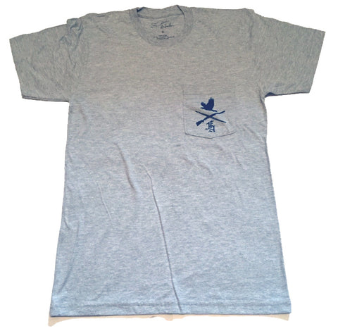 Freedom Artists Crest Pocket Tee - Grey marle
