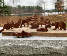 Load image into Gallery viewer, All Natural Maine Inspired Wooden Blocks