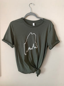 Pine Tree Coast Line T-Shirt