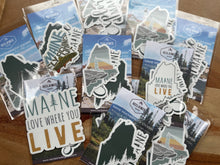 Load image into Gallery viewer, Maine Sticker Bundle (3 or 6)