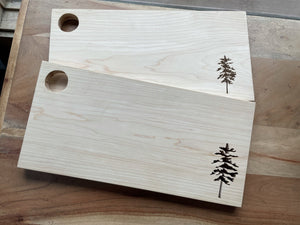 Maine Eastern White Pine Serving Board