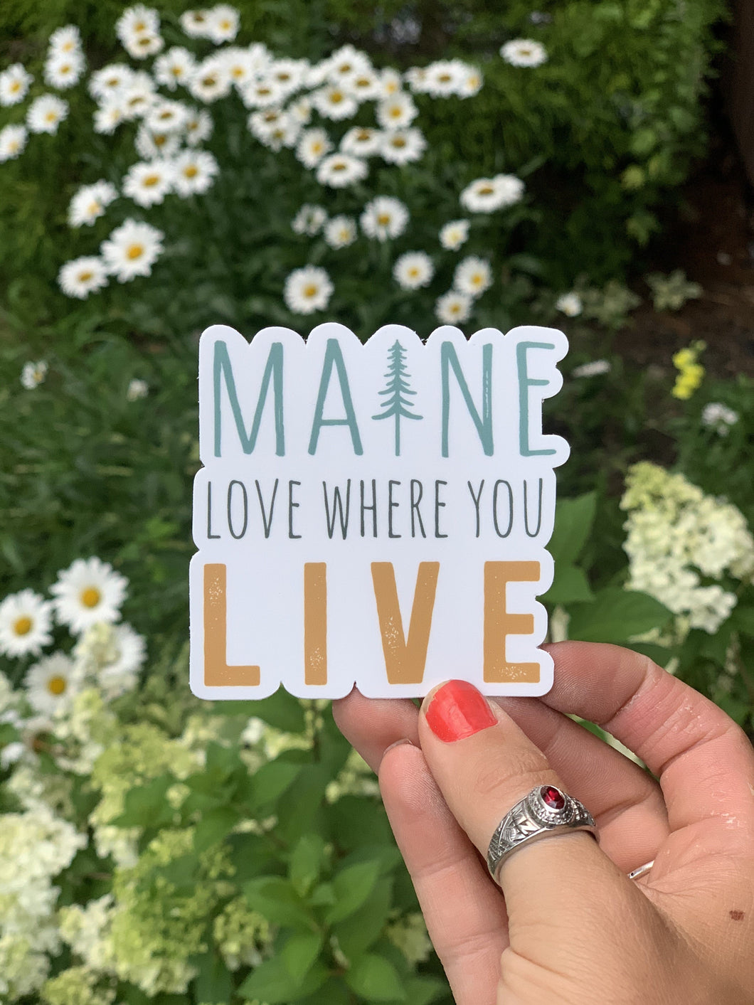 Love Where You Live Sticker