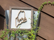 Load image into Gallery viewer, Maine Home Outline Sign