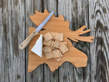 Load image into Gallery viewer, Moose Bamboo Cutting Board