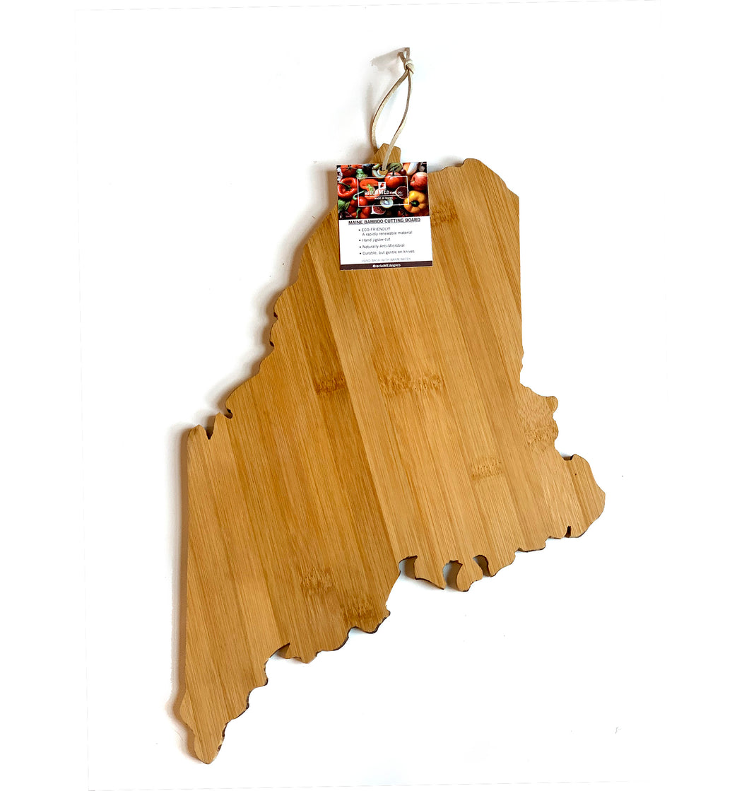 Maine Bamboo Cutting Board